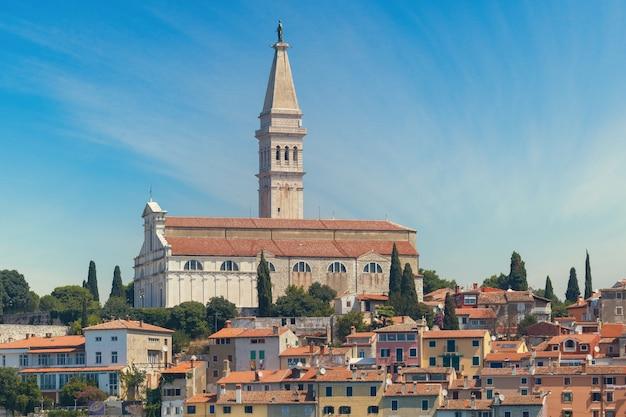 La chiesa di sant'eufemia, rovigno, croazia