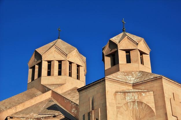 La chiesa di yerevan, in armenia