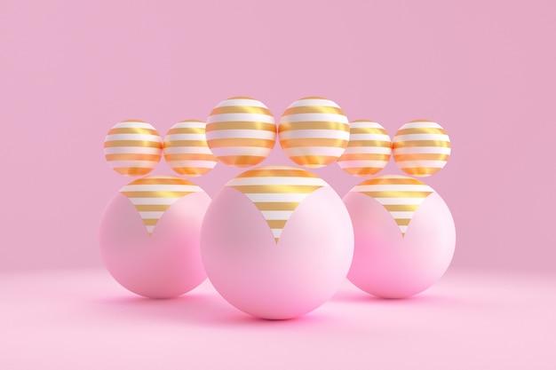 La concept art sul tema della positività corporea. illustrazione 3d