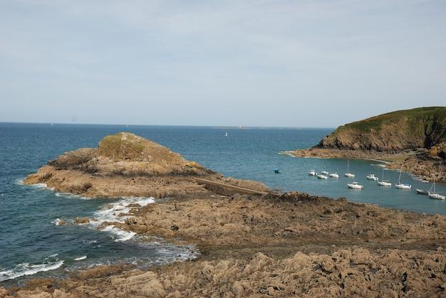 La costa della bretagna fino a st quay-portrieux