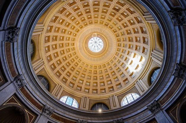 La cupola nei musei vaticani