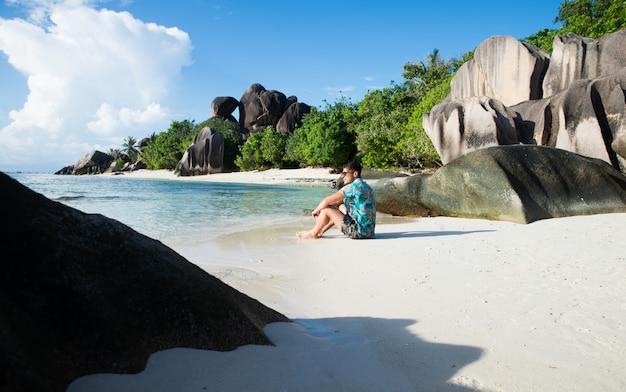 La digue, spiaggia delle seychelles