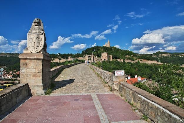 La fortezza di veliko tarnovo, bulgaria
