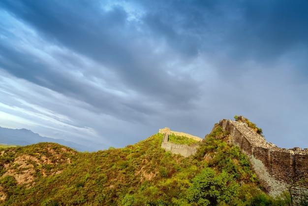 La grande muraglia cinese.