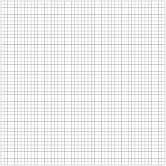 La griglia del grafico ha quadrato il fondo della carta delle cellule. modello di foglio di carta millimetrata. illustrazione.