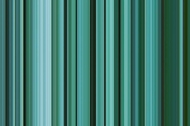 La linea verticale del modello grafico a strisce digitali tonifica la tavolozza monocromatica della variazione di colore turchese del verde bluastro del pino