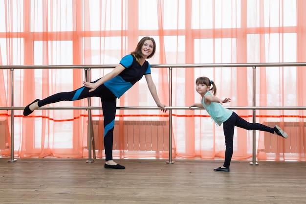 La mamma e il tabellone sono impegnati nella macchina coreografica.