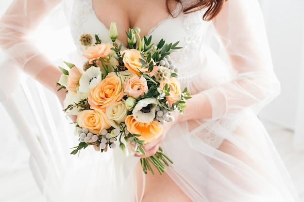 La mattina della sposa boudoir