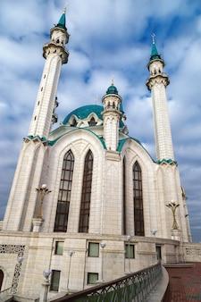 La moschea principale di qol sherif nella città di kazan
