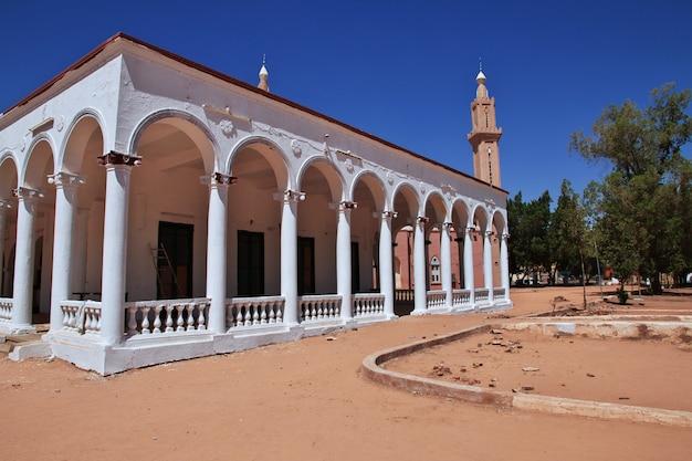 La moschea vintage di omdurman, khartum, sudan