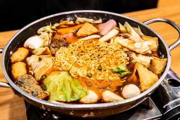 La pentola calda coreana