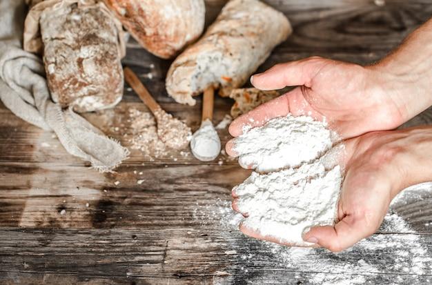La preparazione del pane
