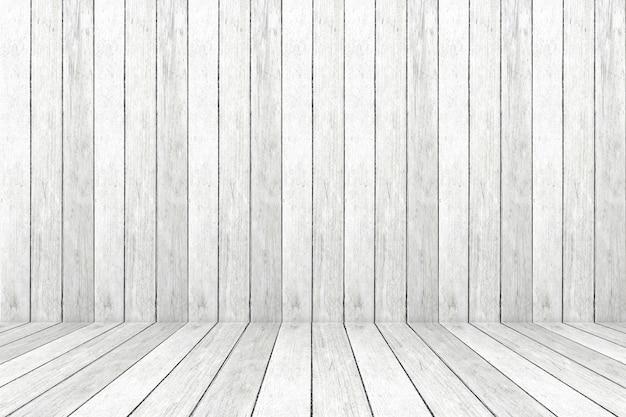 La stanza di legno grigia d'annata vuota, fondo, insegna, interior design, montaggio dell'esposizione del prodotto, deride su fondo