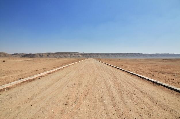 La strada nel deserto
