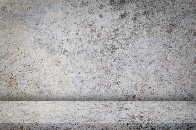 La struttura di vecchio muro di cemento sporco e la progettazione d'annata, per fondo