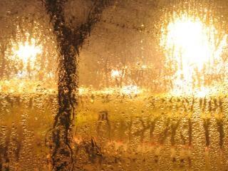 La sua rainning fuori