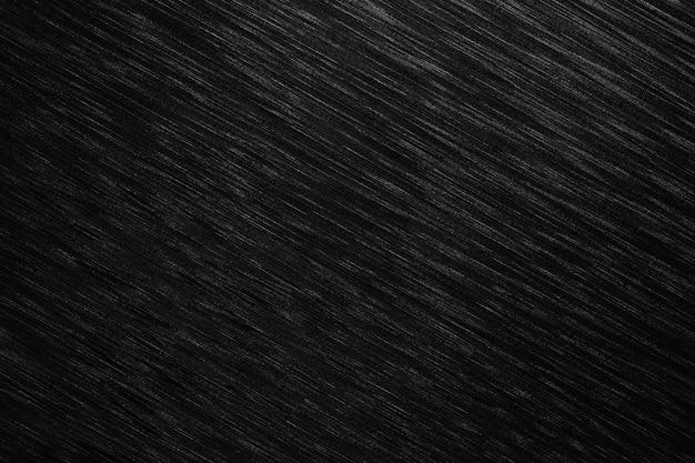 La superficie del metallo nero è uno sfondo della tabella.