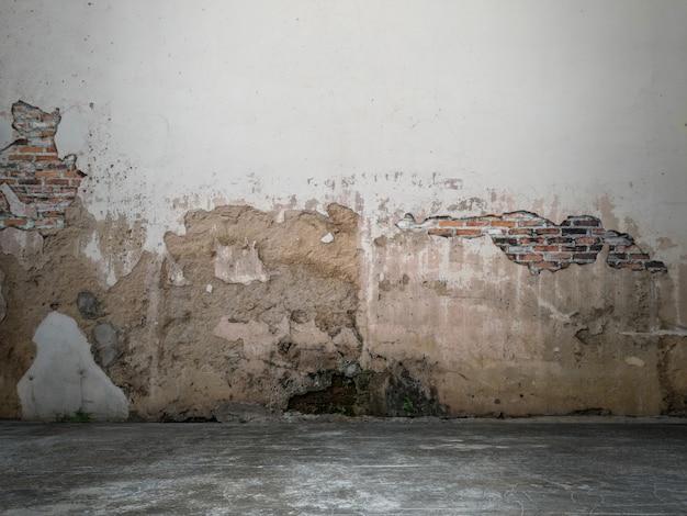 La superficie del muro è vuota per lo sfondo.