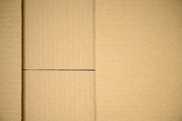 La trama del cartone può essere utilizzata come scatola di cartone di sfondo