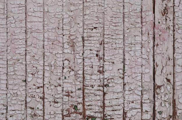 La trama della parete di legno stagionato