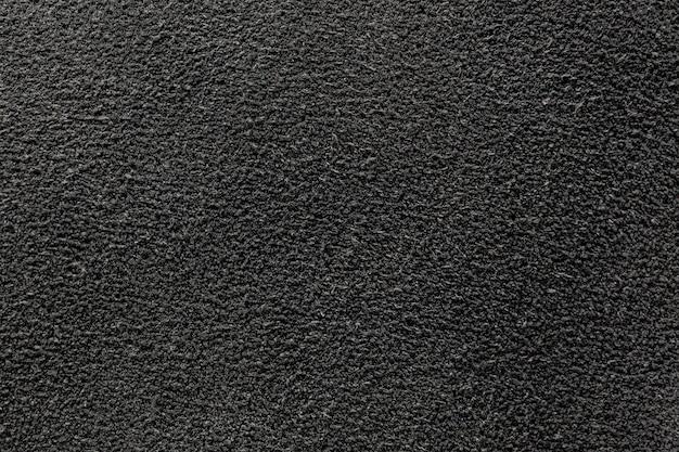 La trama della pelle scamosciata in nero