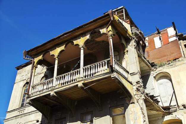 La vecchia città nella città di tbilisi, georgia