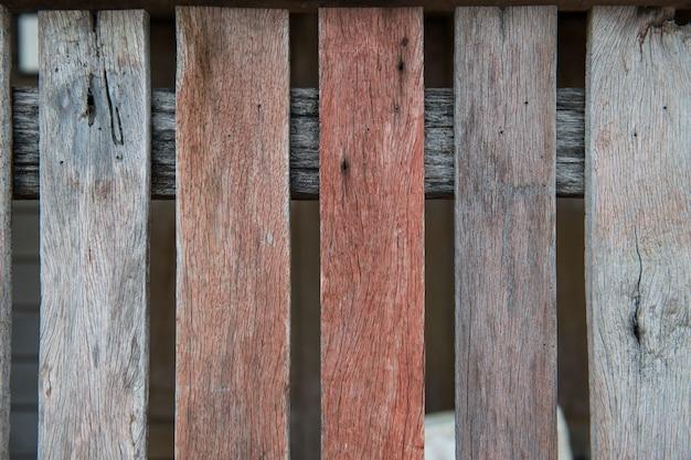 La vecchia retro annata ha invecchiato il fondo di legno di struttura