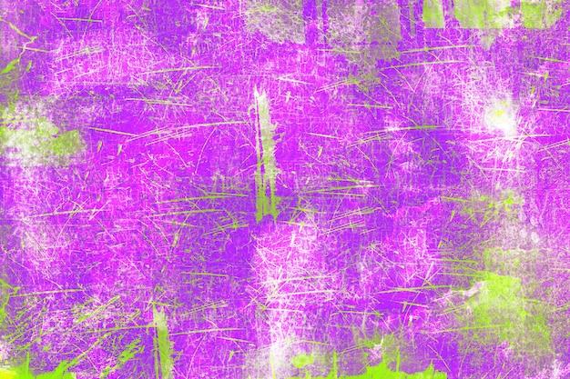 La vecchia struttura gialla viola di lerciume graffia il fondo di alta risoluzione di struttura di distorsione della ruggine