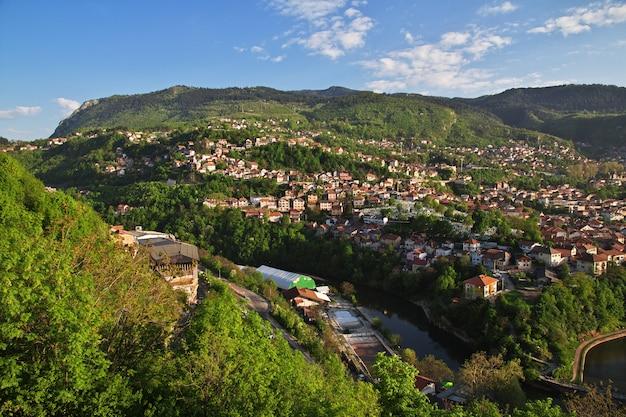 La vista sulla città di sarajevo, bosnia ed erzegovina