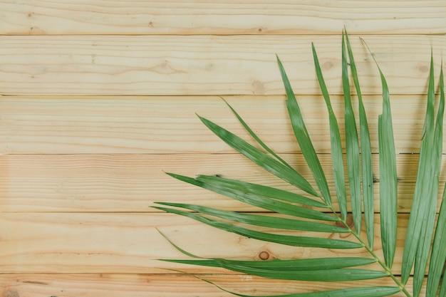 La vista superiore della noce di cocco va su fondo di legno