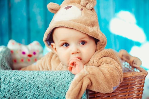 La vita al chiuso bambino napping bello