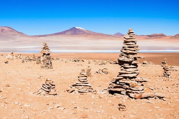 Lago, bolivia altiplano