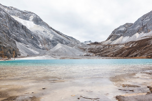 Lago del latte, riserva naturale yading, porcellana