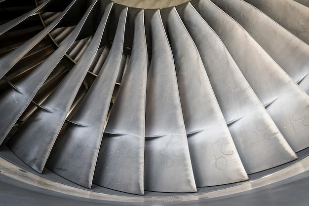 Lame della turbina - alto vicino