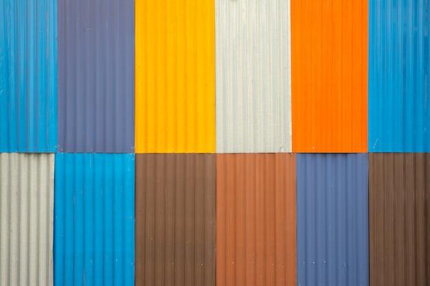 Lamina di metallo colorato per lo sfondo
