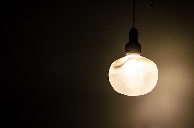 Lampada a sospensione vintage