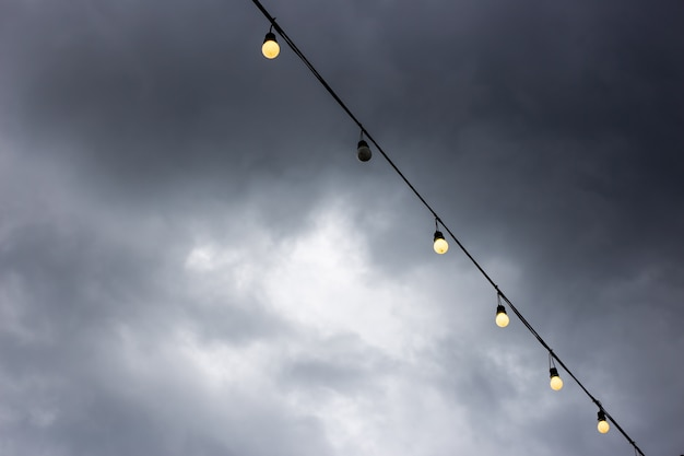 Lampadina con luce notturna