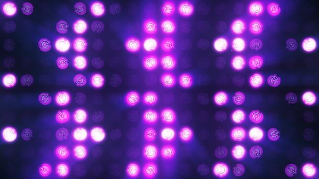 Lampeggiante lampadina faretto luci di inondazione freccia vj led a parete palcoscenico display led luci lampeggianti