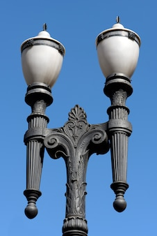 Lampione antico, simbolo della città di san paolo