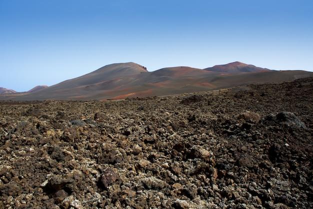 Lanzarote timanfaya fire mountains lava vulcanica