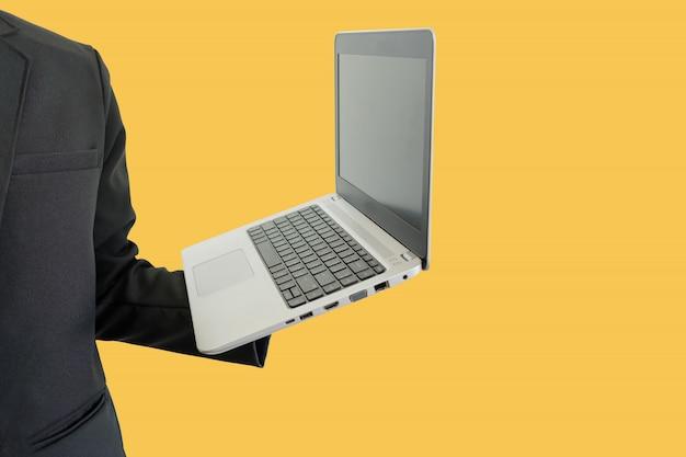 Laptop a portata di mano