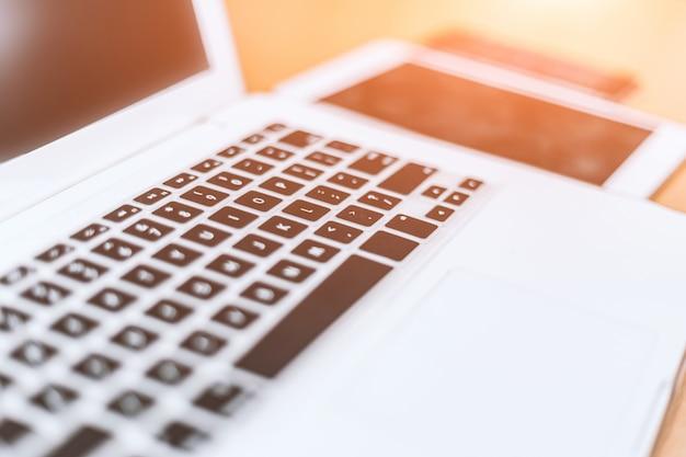 Laptop da vicino