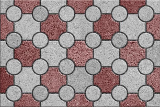 Lastre per pavimentazione in grigio e marrone