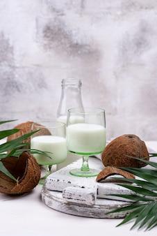 Latte di cocco naturale non caseario