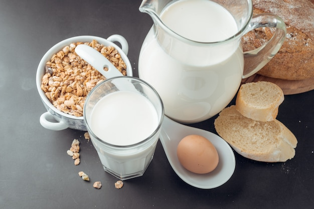 Latte e prodotti da forno
