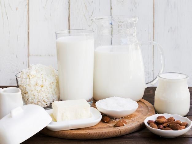 Latte, ricotta e prodotti caseari