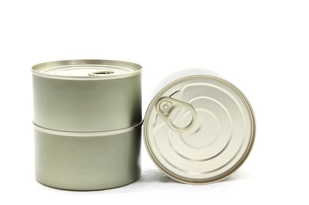 Lattina di alluminio isolata