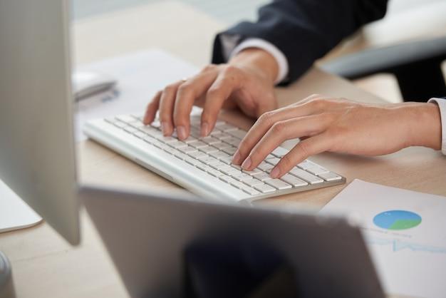 Lavorando sul computer