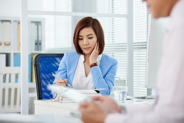 Lavorare con documenti aziendali
