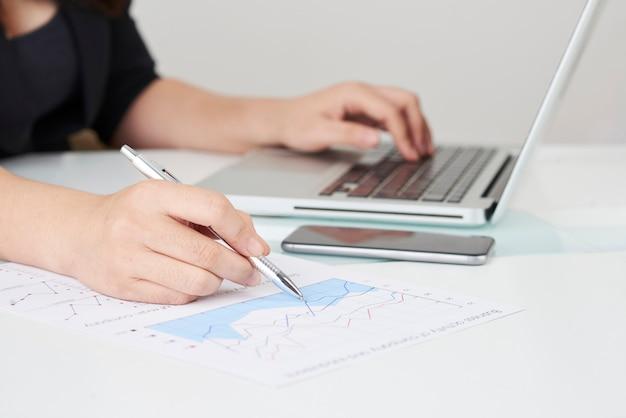 Lavorare con documenti finanziari